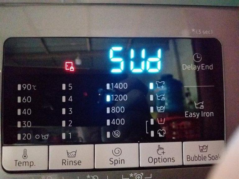 Lỗi 5UD,SUD Của Máy Giặt Samsung – Nguyên Nhân Và Cách Khắc Phục