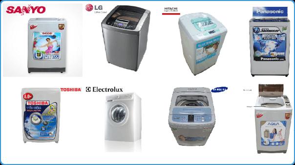 hình ảnh các hãng máy giặt